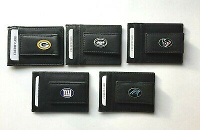 NFL Tampa Bay Buccaneers Leather Money Clip Cardholder