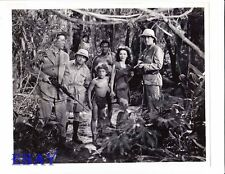 Maureen O'Sullivan Johnny Sheffield VINTAGE Photo Tarzan's Secret Treasure