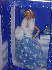 ♥ top NRFB Special Edition 1999 snow Sensation nieve sueño barbie azul claro blanco