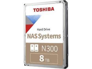 TOSHIBA High-Reliability Hard Drive HDWG180XZSTA 8TB 7200 RPM 256MB Cache