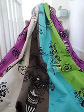 DESIGNERS GUILD CURTAINS silk Taillandier Amethyst ROCOCO florals INTERLINED wOw