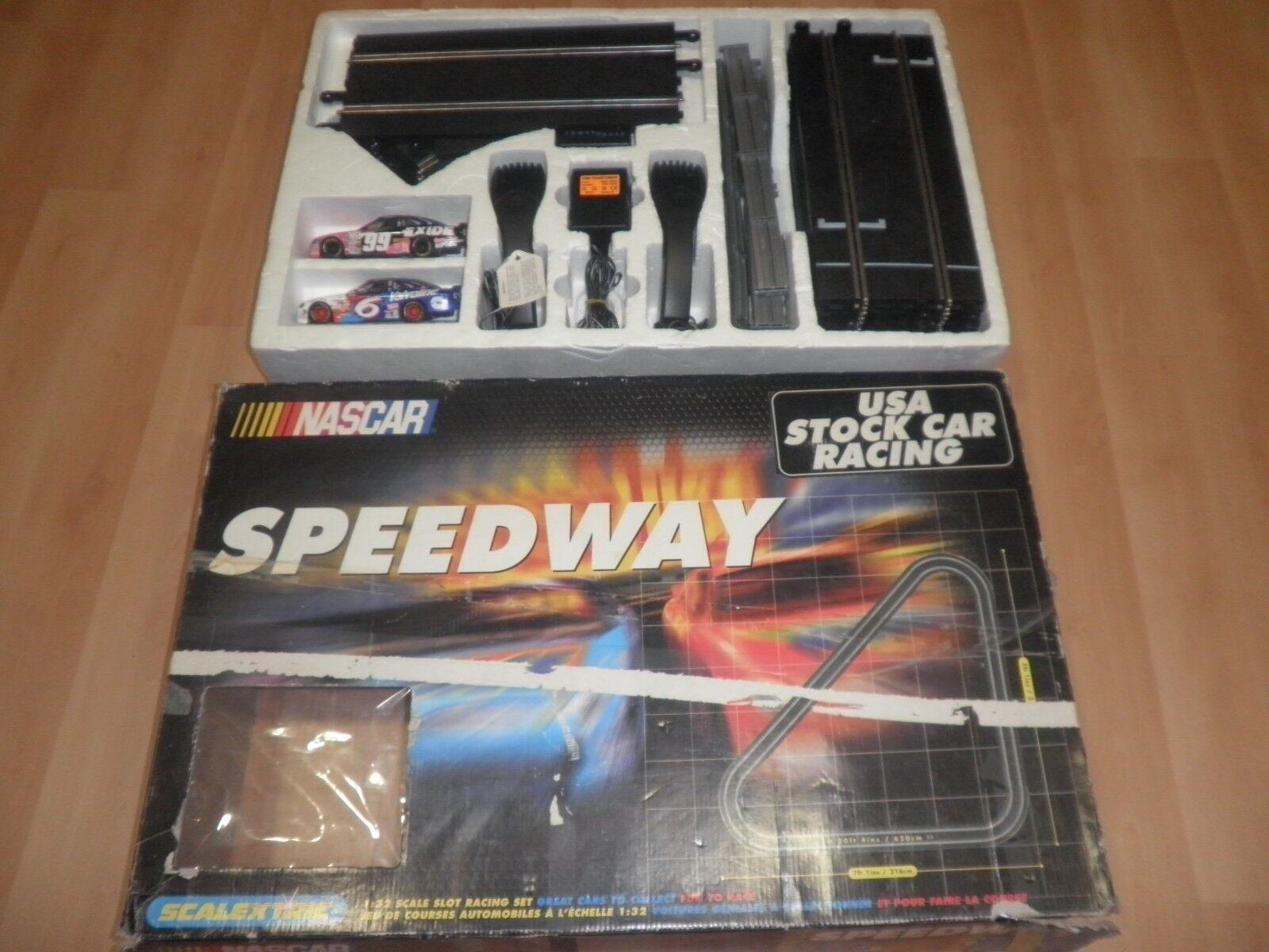 Scalextric HORNBY NASCAR SPEED WAY COMO NUEVO FUNCIONANDO  FORD TAURUS