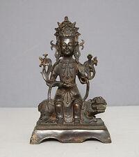 Chinese  Antique  Bronze  Statue  of  Buddha       M2012