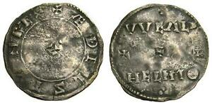 ANGLO-SAXON-Kings-of-Wessex-Aethelstan-924-939-AR-Penny-VF-Very-Rare-4445