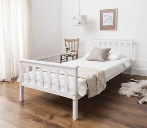 Single-Bed-in-White-3ft-Single-Bed-Wooden-Frame-White
