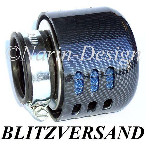 Sportluftfilter Spritzschutz Carbon Optik Sachs 4-Rock