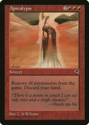 Apocalypse Tempest PLD-SP Red Rare MAGIC THE GATHERING MTG CARD ABUGames