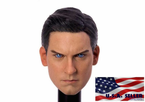 1//6 Spider-Man Tobey Maguire Head Sculpt 3.0 For Hot Toys PHICEN Male Body ❶USA❶
