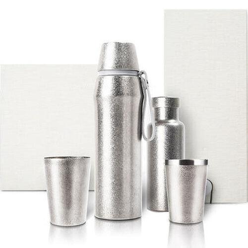 Titanium Vacuum Insulation Cup High capacittà Sport Bottle Hire campeggio Teacup