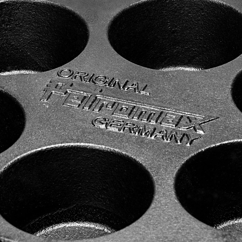 Petromax Moule à Muffins Mf 6 Convient Convient Convient en ft6 et ft9 Faitout Camping Grill Küche 1d380c
