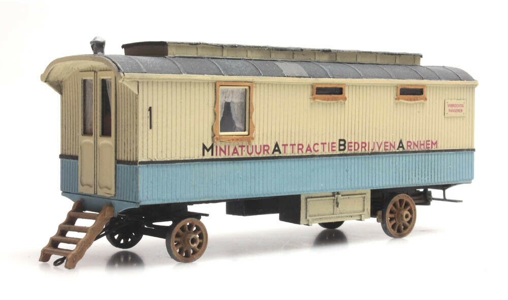 Artitec 387.367 Kirmes Wohnwagen Fertigmodell HO 1 87 NEU  | Starker Wert