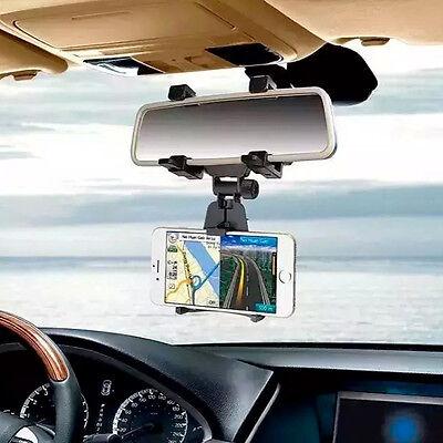 Supporto Specchietto Retrovisore Auto Macchina Smartphone Cellulare Specchio Bkm Alta Qualità