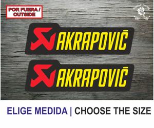 Sticker-Vinilo-Decal-Vinyl-Aufkleber-Adesivi-Autocollant-Akrapovic-SA-Exhaust