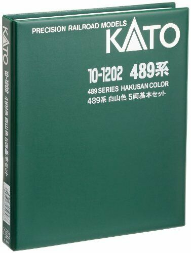 KATO N gauge 10-1202 489 system Hakusan Coloreeeee Coloreeeee Coloreeeee 5 both basic set From Japan 26635d