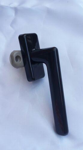 10 x Poignée de fenêtre 7 mm avec plume f2 wehag 6336 Noir Brun etc TISSU RAL 8022 sts