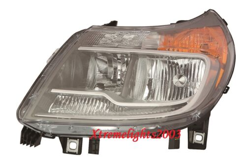 DODGE RAM PROMASTER 2014-2016 LEFT DRIVER HEADLIGHT HEAD LAMP LIGHT W//O DRL