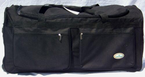 36 TRAVEL, GYM, ROLLER GEAR BAG /BLACK WHEEL/WHEELIE BAG