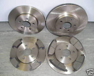 JAGUAR-X-TYPE-FRONT-AND-REAR-BRAKE-DISCS-AND-PADS-2005-2009