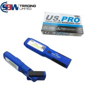 US-PRO-COB-INSPECTION-LIGHT-amp-LED-TORCH-Super-Bright-Rechargeable-Magbender-5391