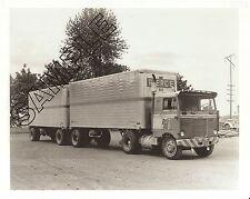 1950s KENWORTH CSE Non-Tilt COE, PIERCE FREIGHT LINES, OREGON 8x10B&W PHOTO