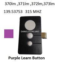 Liftmaster Garage Door Opener Remote Control Part For 139.53753