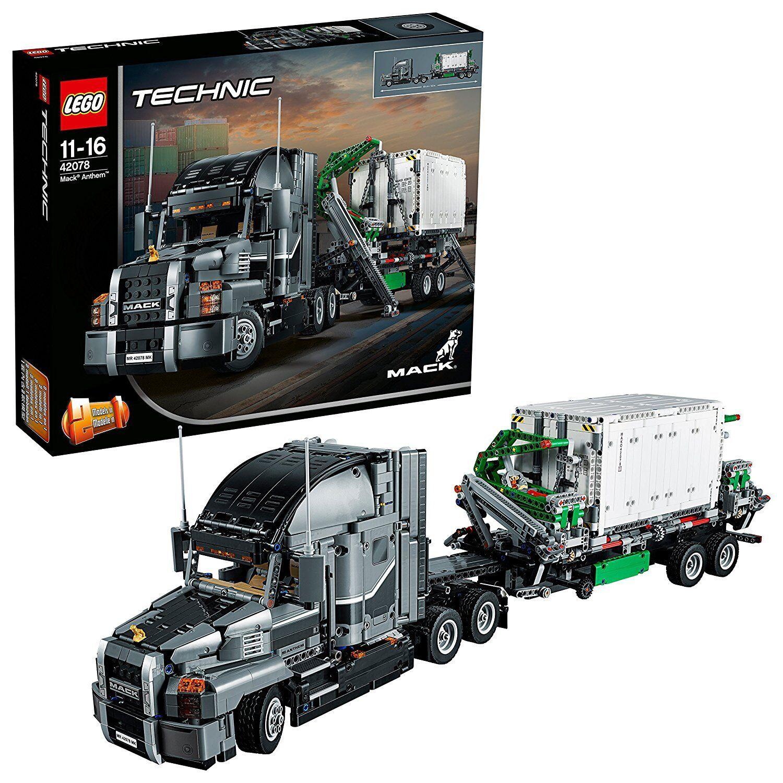 42078 LEGO TECHNIC MACK ANTHEM 2595 PEZZI 11 - 16 ANNI SIGILLATO ORIGINALE