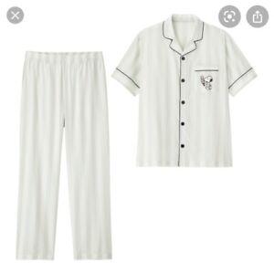 women Snoopy Peanuts Pajama Set Size M **Brand NEW