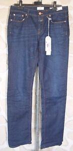 Nuevo Tamaño € Jeans Mark Fr Closed United Labeled Straight 189 Azul 42 gZnq6w