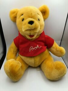 Vintage-Disneyland-Disney-World-Winnie-The-Pooh-Bear-Plush-Soft-Stuffed-Toy-Doll