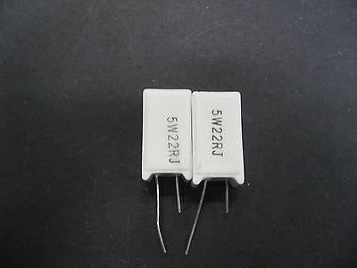 20x 6,8 Ohm 3 Watt Power-Wirewound-Widerstand 5/%