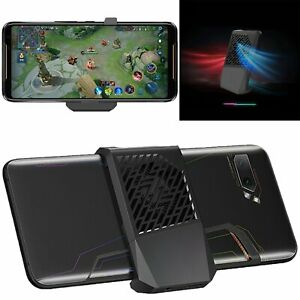 Details about For ASUS ROG 2 Mobile Phone Games Holder Bracket Type-C  Adapter with Cooling Fan