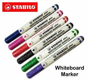 STABILO-PLAN-Whiteboardmarker-Pen-Whiteboard-Marker-Purple-Pink-Green-Blue-Red