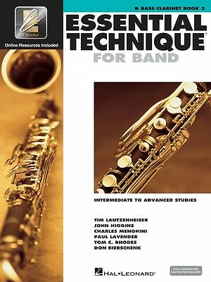 Instruction Books, Cds & Video Essential Technique For Band Intermediate To Advanced Studies Bb Bass 000862622 Numerous In Variety