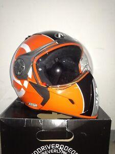 Airoh J106 Shot Noir Orange Taille Xl Casque Helmet Capacete Casque