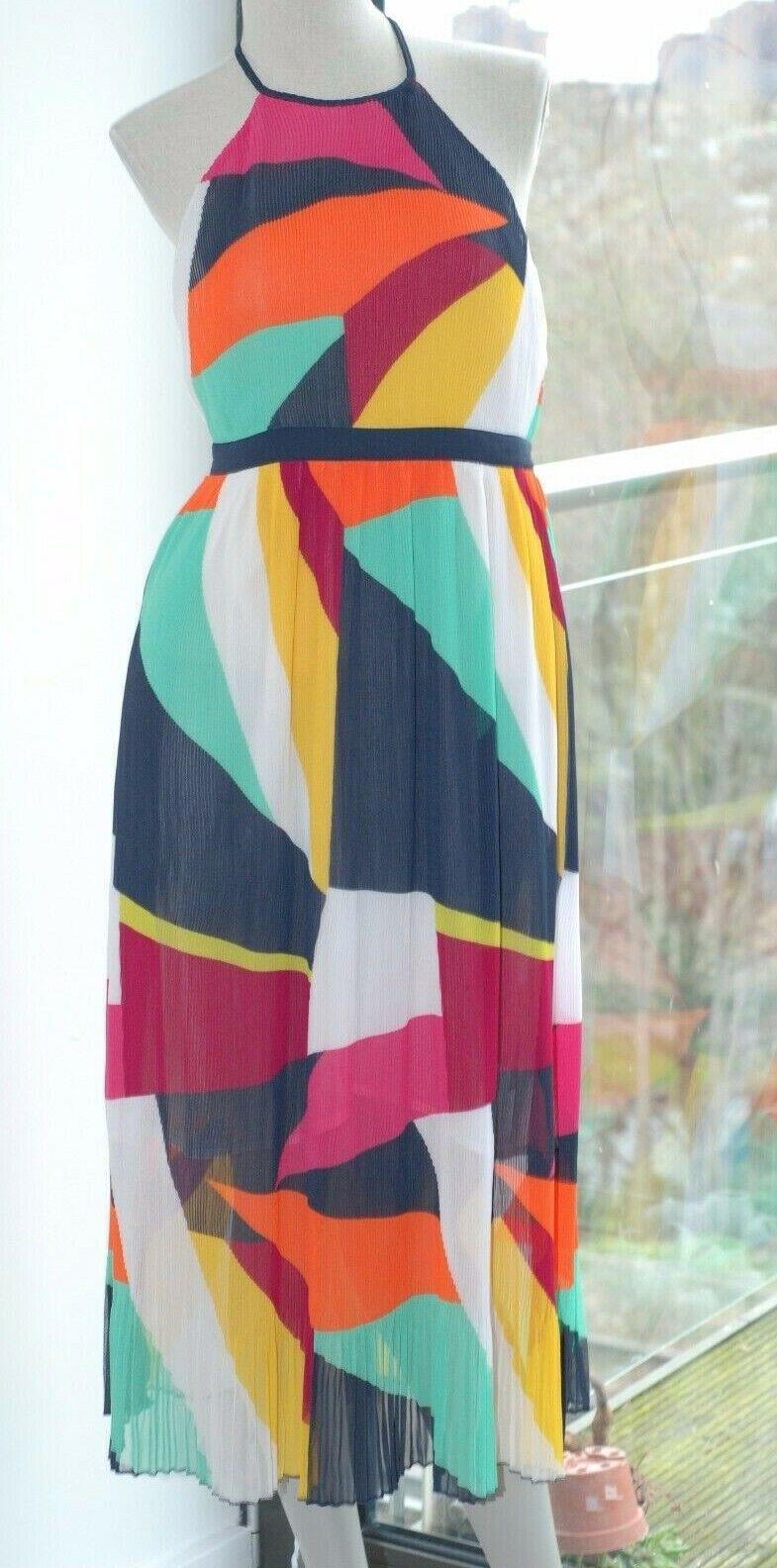 NEXT BEACHWEAR pleated dress size