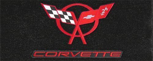 Lloyd Mats CLASSIC LOOP 3PC MAT SET Corvette CONVERTIBLE *Red C5 /& Script Logo