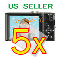 5x Clear Lcd Screen Protector Guard Film For Nikon Coolpix S8200 Digital Camera