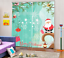 3D Christmas 36 Blockout Photo Curtain Printing Curtains Drapes Fabric Window AU