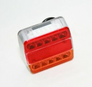 5-Function-12V-Lights-Led-Stop-Rear-Tail-Light-VAN-Trailer-Truck-Lorry-Bus