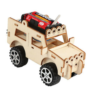 1pc-Woodcraft-Toy-Wooden-Jeep-Car-Construction-Kit-Kids-Wood-Model-Puzzle