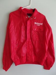Vintage Motorcraft Racing Jacket- gas oil mechanic rat rod tire nascar