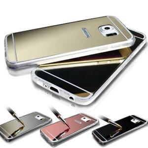 Samsung-Galaxy-S8-S8-Plus-Spiegel-Case-Handy-Huelle-Schutz-Tasche-Bumper-Cover
