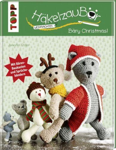 1 von 1 - HäkelzauBär * Weihnachten * Bäry Christmas! * TOPP 6454 * Frech Verlag