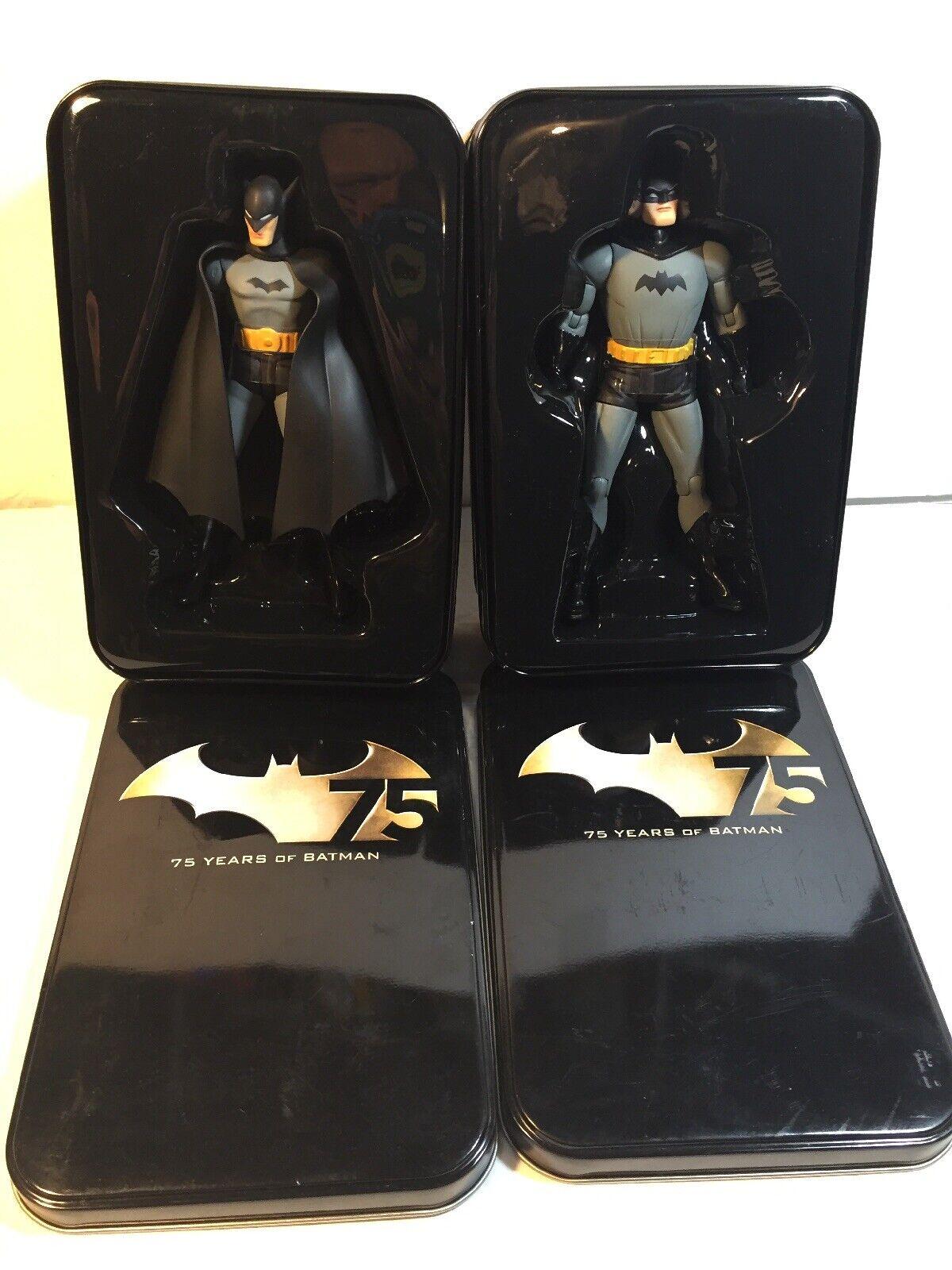 2-Batman 75th Anniversary Figures In Tin