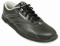 Womens Brunswick Silk Black Bowling Shoes Size 9.5 10 11 Right Left