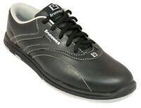 Womens Brunswick Silk Black Bowling Shoes Size 9.5 10 11 Right Left