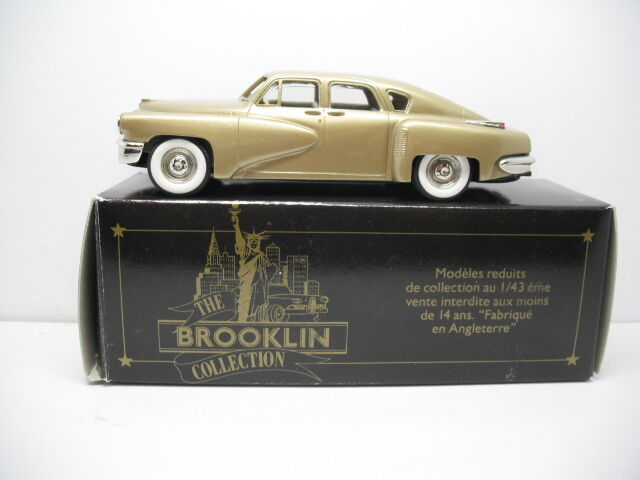 Los mejores precios y los estilos más frescos. Brooklin modelos BRK2A 1948 Tucker topedo 1 43 43 43 Escala  nuevo listado