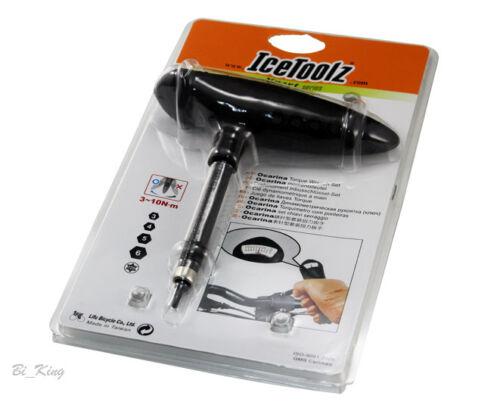 NEW IceToolz E219 Torque Wrench Set 3~10N∙m 3//4//5//6mm hex keys/&T-25,Bike Tools