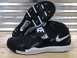 d219b6900637d Nike Zoom Javelin Elite 2 Track Throwing Shoes Black White Volt SZ ...