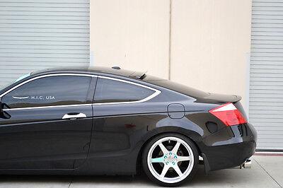 HIC USA 2008 to 2012 Accord 2 Door Rear Visor CF Black